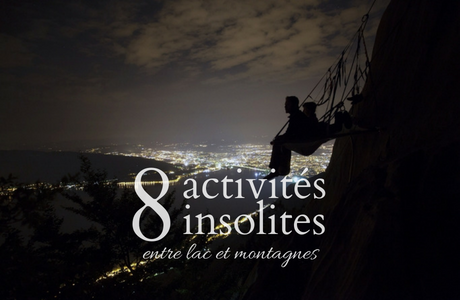 8 activités insolites entre lac et montagnes